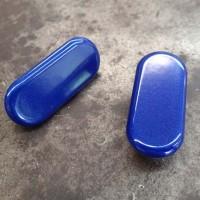 Blue '09-'14 R1 Mirror Blockoffs