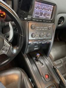 r35 titanium shift knob
