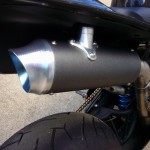 Gregg's Customs Exhaust on 2013 Yamaha R1