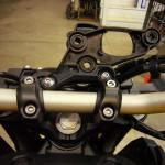 Factory gauge bracket