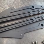 Black P.C. Billet Subframe plates