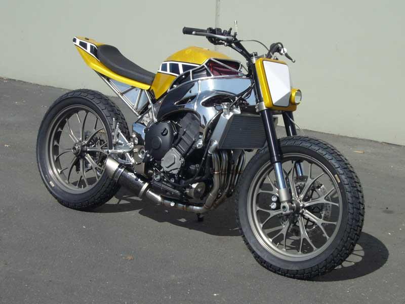 Flat Track Yamaha